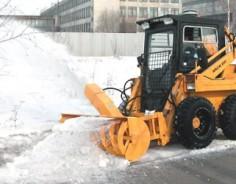 Снегоочиститель фрезерно-роторный для МКСМ